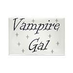 Vampire Gal Rectangle Magnet (10 pack)