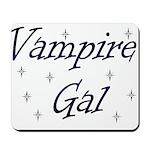 Vampire Gal Mousepad