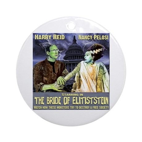 anti Harry Reid Ornament (Round)