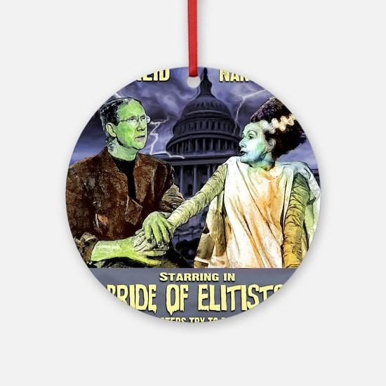 anti Harry Reid Ornament (Round)