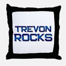 trevon rocks Throw Pillow