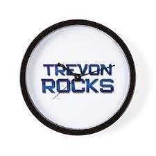trevon rocks Wall Clock