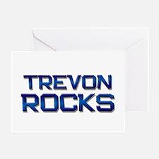 trevon rocks Greeting Card