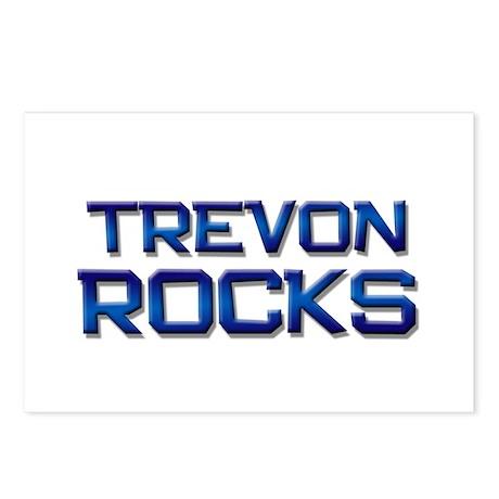 trevon rocks Postcards (Package of 8)