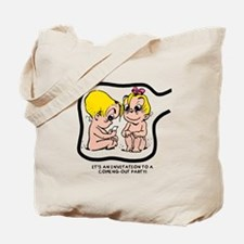 Eggbert Coming Out (blond) Tote Bag