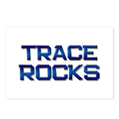 trace rocks Postcards (Package of 8)