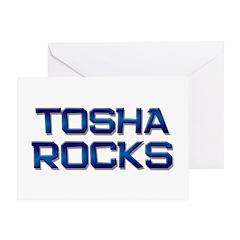 tosha rocks Greeting Card