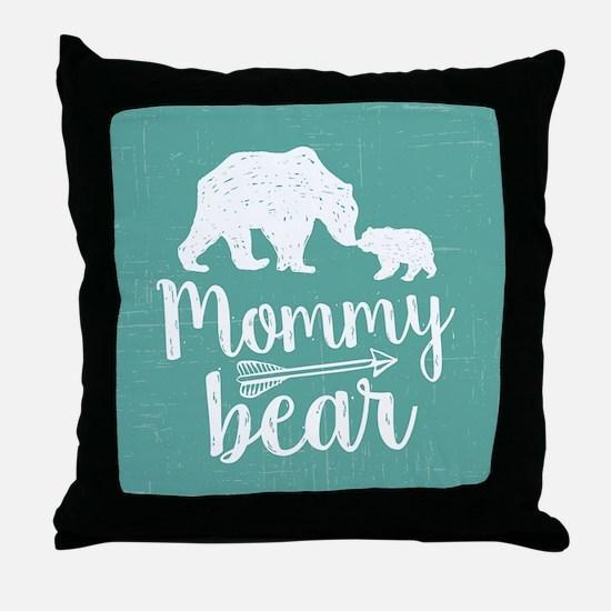 Mommy Bear Throw Pillow