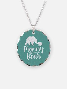 Mommy Bear Necklace