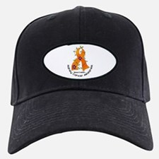 Flower Ribbon KIDNEY CANCER Baseball Hat