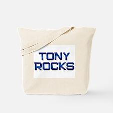 tony rocks Tote Bag