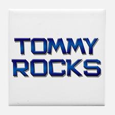 tommy rocks Tile Coaster