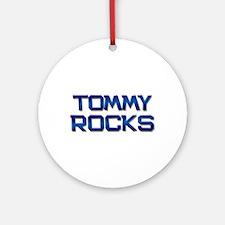 tommy rocks Ornament (Round)