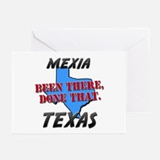 mexia texas - been there, done that Greeting Cards