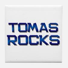 tomas rocks Tile Coaster