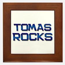 tomas rocks Framed Tile