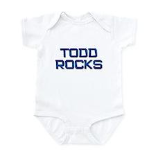 todd rocks Infant Bodysuit