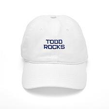 todd rocks Baseball Baseball Cap