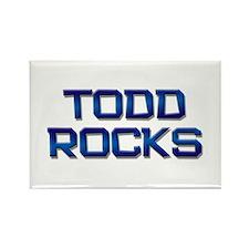 todd rocks Rectangle Magnet