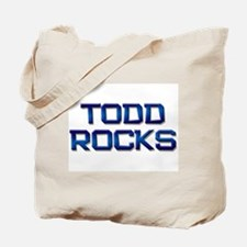 todd rocks Tote Bag