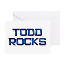 todd rocks Greeting Card
