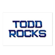 todd rocks Postcards (Package of 8)