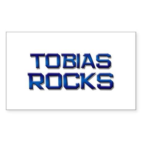 tobias rocks Rectangle Sticker