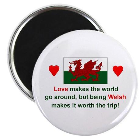 Love Welsh Magnet