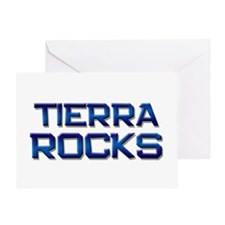 tierra rocks Greeting Card