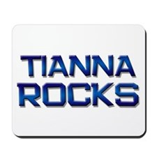 tianna rocks Mousepad