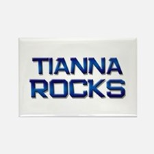 tianna rocks Rectangle Magnet