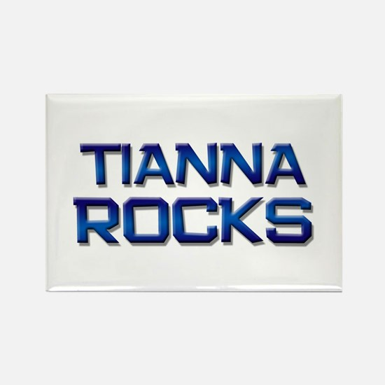 tianna rocks Rectangle Magnet