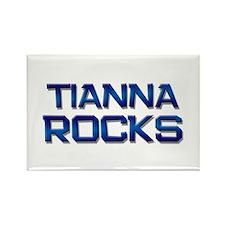 tianna rocks Rectangle Magnet (10 pack)