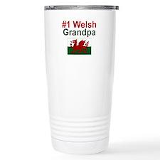 #1 Welsh Grandpa Travel Mug