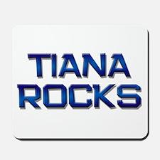 tiana rocks Mousepad