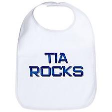 tia rocks Bib