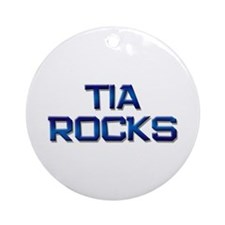 tia rocks Ornament (Round)