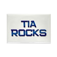 tia rocks Rectangle Magnet