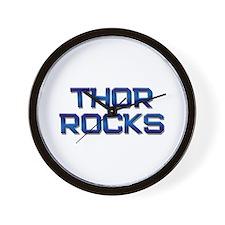thor rocks Wall Clock