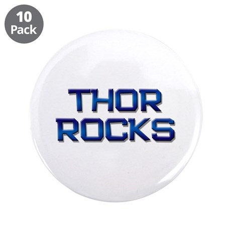 """thor rocks 3.5"""" Button (10 pack)"""