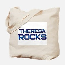 theresa rocks Tote Bag