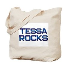 tessa rocks Tote Bag