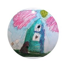 Kira Lanoue Ornament (Round)