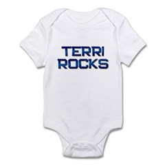 terri rocks Infant Bodysuit