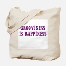 Grooviness is Happiness Tote Bag