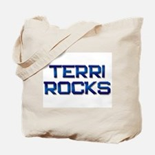 terri rocks Tote Bag