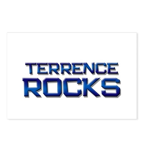 terrence rocks Postcards (Package of 8)