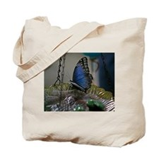 Beautiful Garden Butterfly Tote Bag