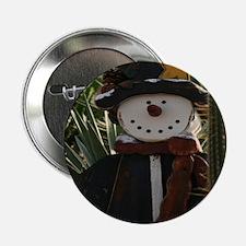 """Desert Snowman 2.25"""" Button"""