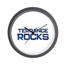 terrance rocks Wall Clock